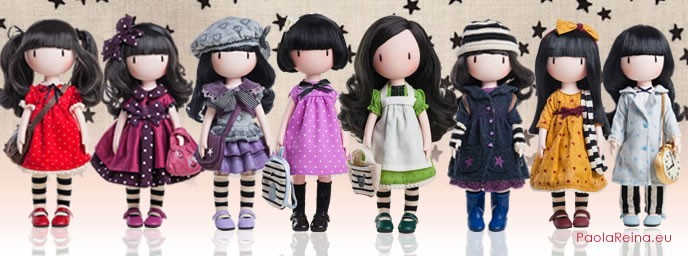 Gorjuss of Santoro Dolls